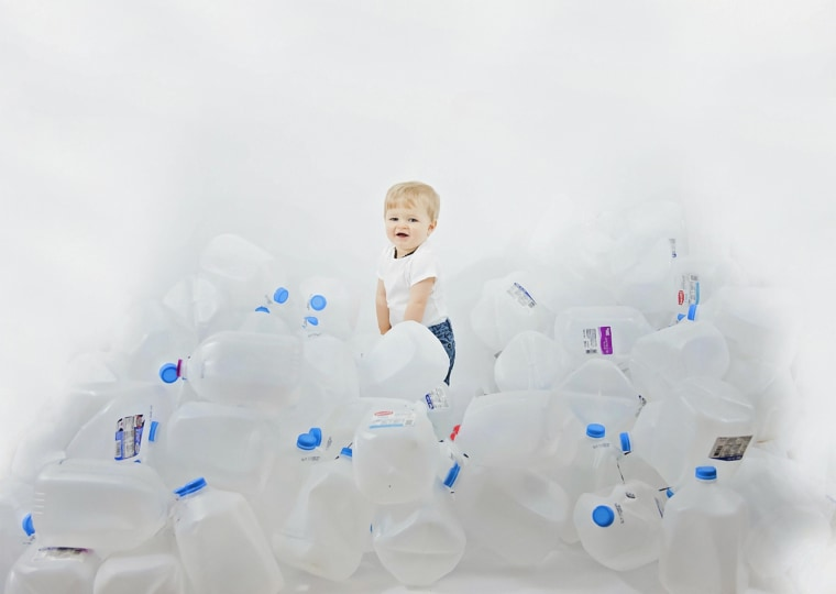 In the year since having Jaydon, Christina Nichter donated 128 gallons of breast milk.