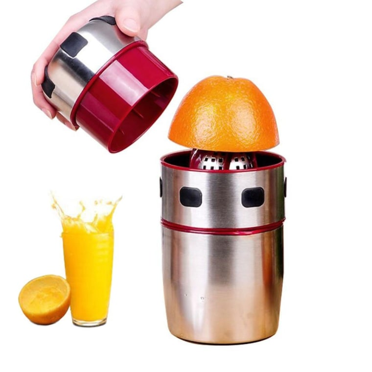 This juicer is actually portable and comes with a cup.