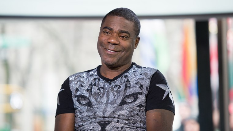 Image: Tracy Morgan on the Today Show, February 15, 2017.