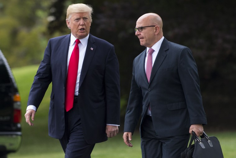 Image: Donald Trump, H.R. McMaster