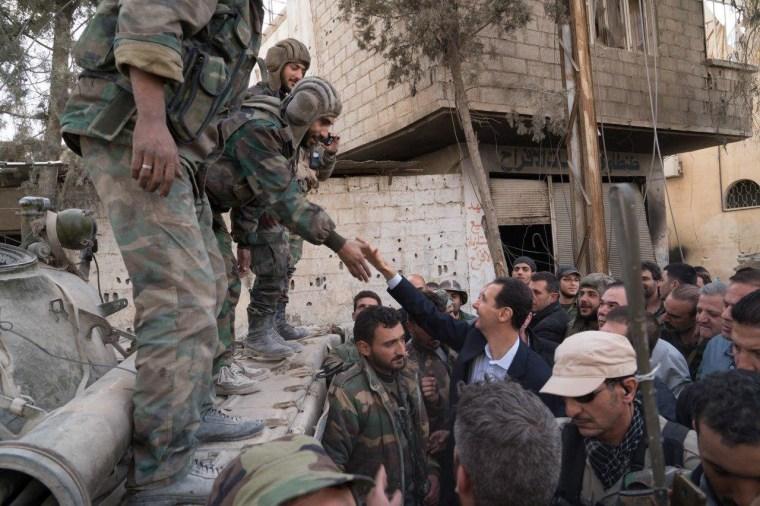 Image: Bashar al-Assad