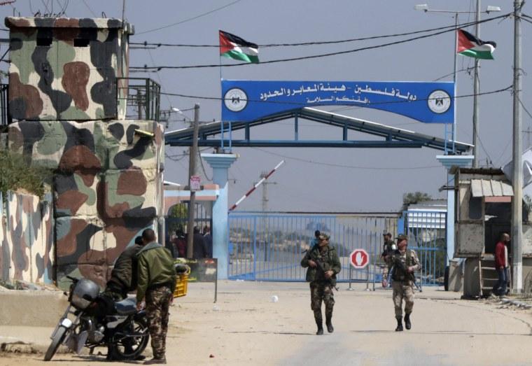 Image: Israel border