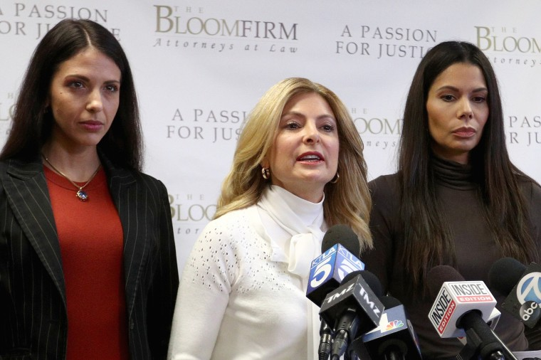 Image: Lisa Bloom Holds Press Conference For 2 Victims Accusing Actor Steven Seagal Of Sexual Assault