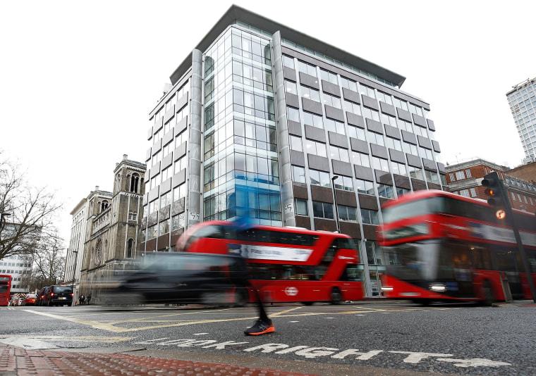 Image: Cambridge Analytica offices