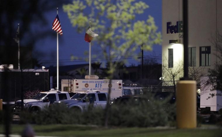 Image: FedEx explosion