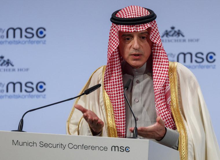 Image: Saudi Arabia's Foreign Minister Adel Al-Jubeir