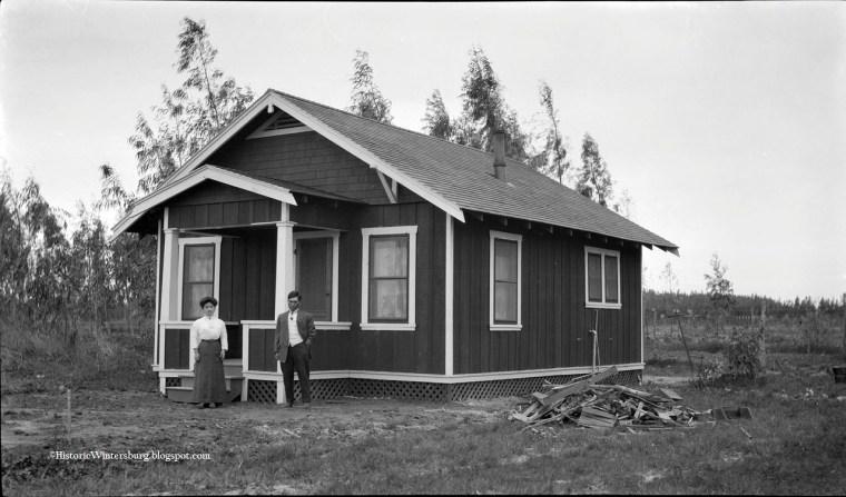 Image: Home of Charles Mitsuji and Yukiko Yajima Furuta, circa March 1913.