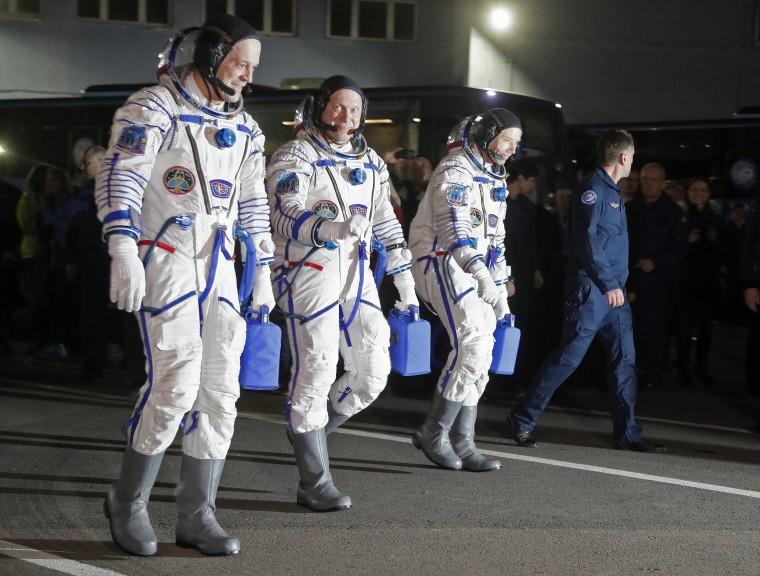 Image: Oleg Artemyev, Richard Arnold, Andrew Feustel