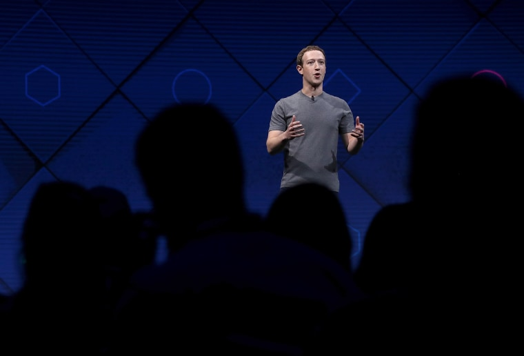 Image: Mark Zuckerberg Delivers Keynote Address At Facebook F8 Conference