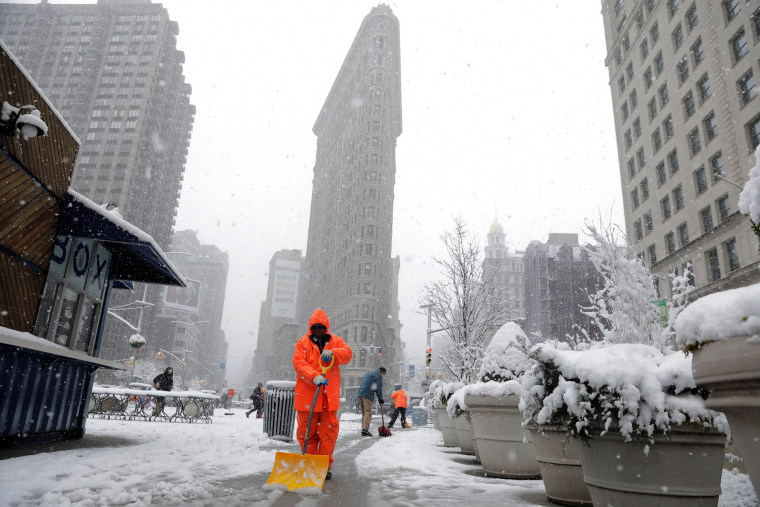 Image: Nor'easter in New York