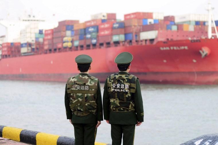 Image: Chinese tariff's
