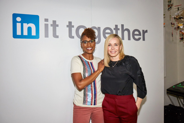 Image: Issa Rae and Chelsea Handler