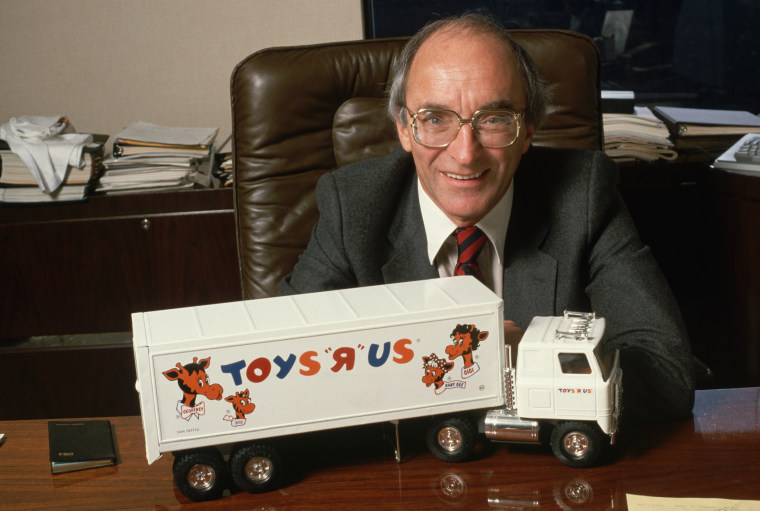 Image: Charles Lazarus with Toy Truck