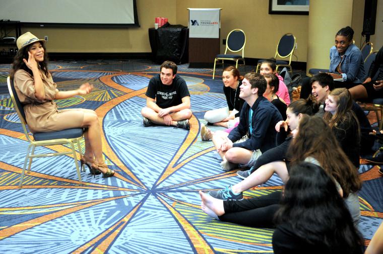 Image: YoungArts Week - Rosie Perez Master Class