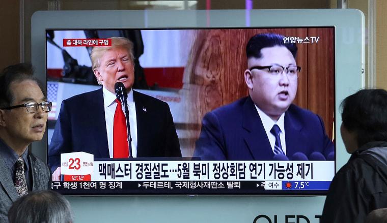 Image: Kim Jong Un, Donald Trump