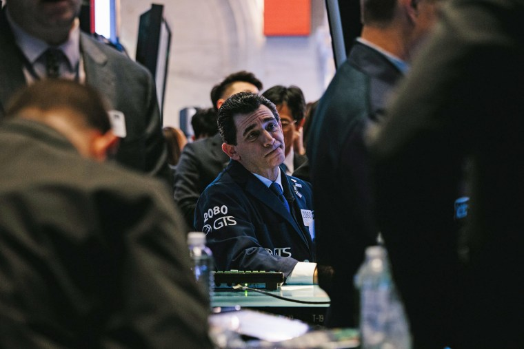 Image: Trading at the New York Stock Exchange