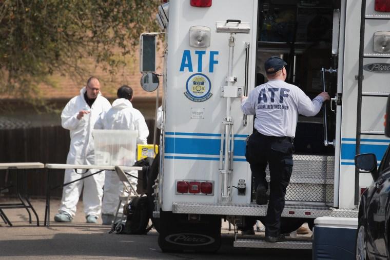 Image: Law Enforcement Officials Continue Investigation Into Austin Bomber