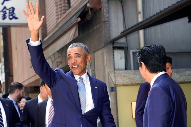 Image: JAPAN-US-DIPLOMACY-OBAMA