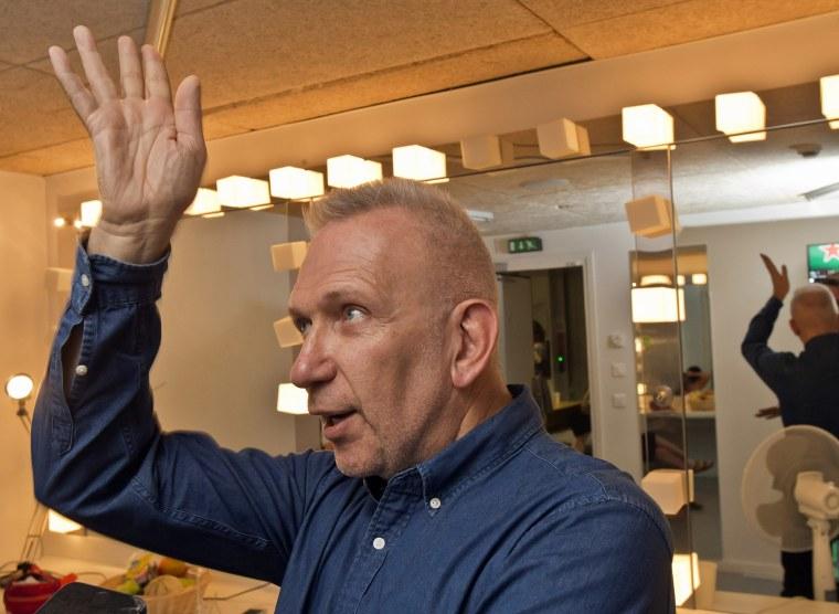 Image: Jury President French fashion designer Jean-Paul Gaultier