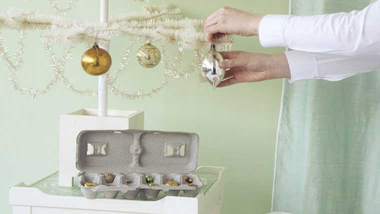 Christmas decor storage ideas