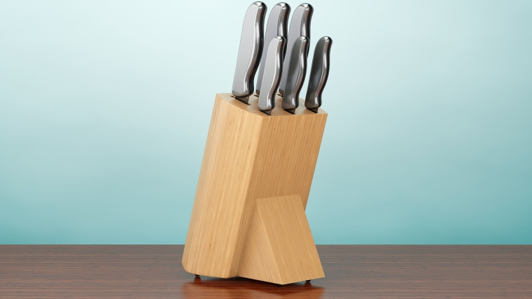 Have you ever thought of cleaning your knife block before? Maybe you should.