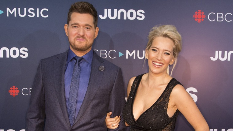 Michael Buble and his wife Luisana Lopilato are expecting a girl, their first daughter after two sons.