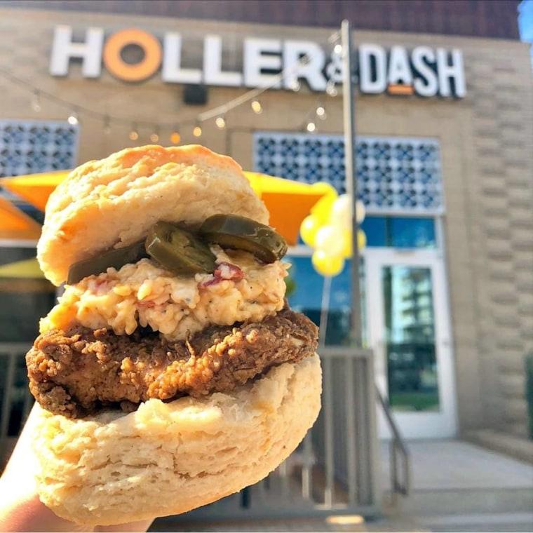 Holler & Dash storefront in North Carolina