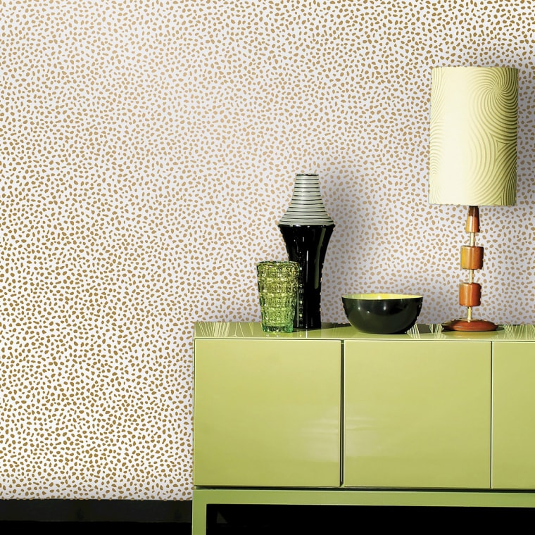 Peel-and-stick wallpaper is the $30 hack your home needs for spring
