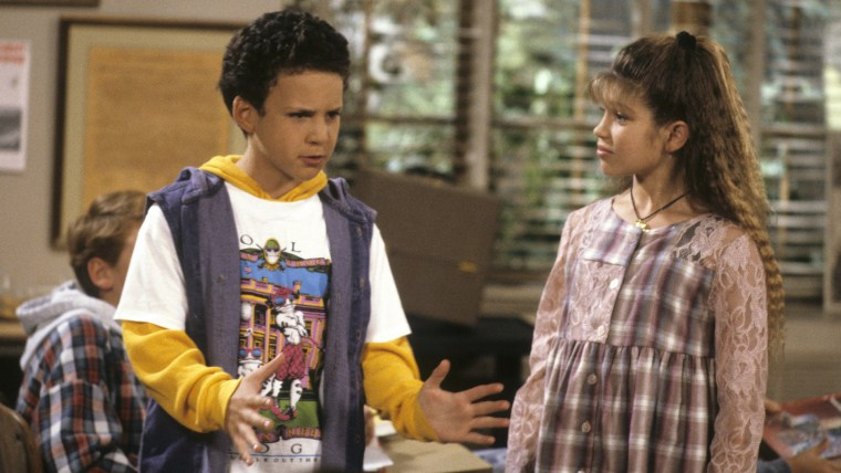 "Ben Savage and Danielle Fishel on ""Boy Meets World"""