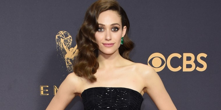 Emmy Rossum at the Emmys