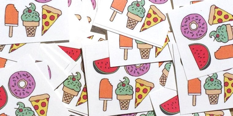 Deal Of The Day 30 Percent Off 90s Inspired Temporary Tattoos By Dani