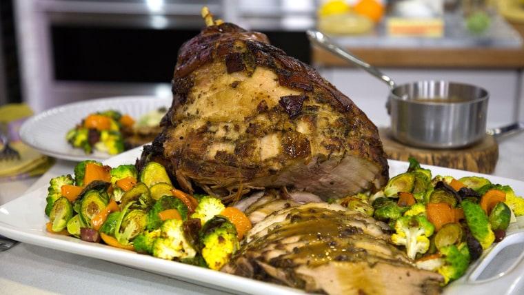 Anthony & Elaina Scotto's Ham with Rosemary
