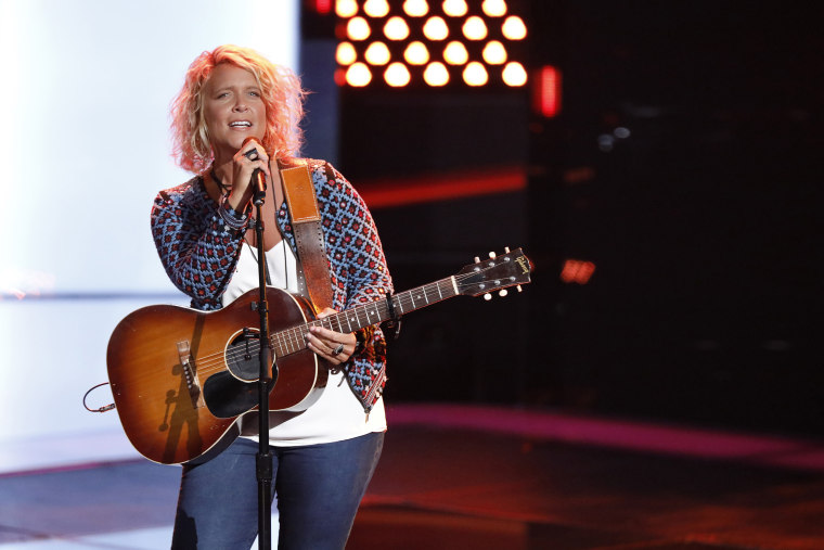 """The Voice"" contestant Molly Stevens"