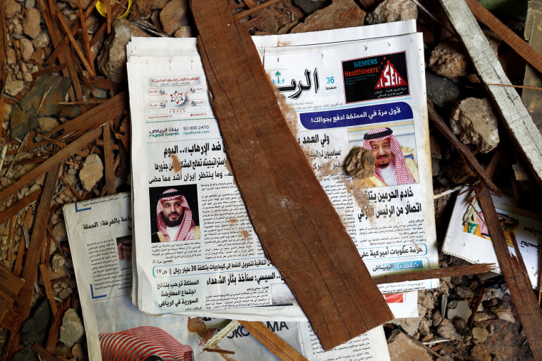 Image: Strikes in Riyadh