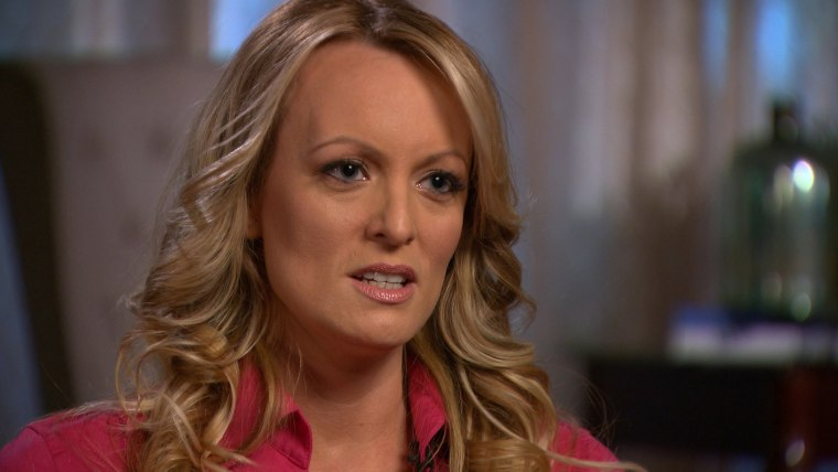 Image: Stormy Daniels 60 Minutes interview