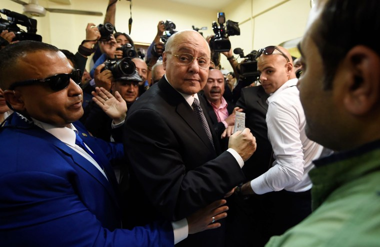 Image: Egyptian presidential candidate Moussa Mostafa Moussa