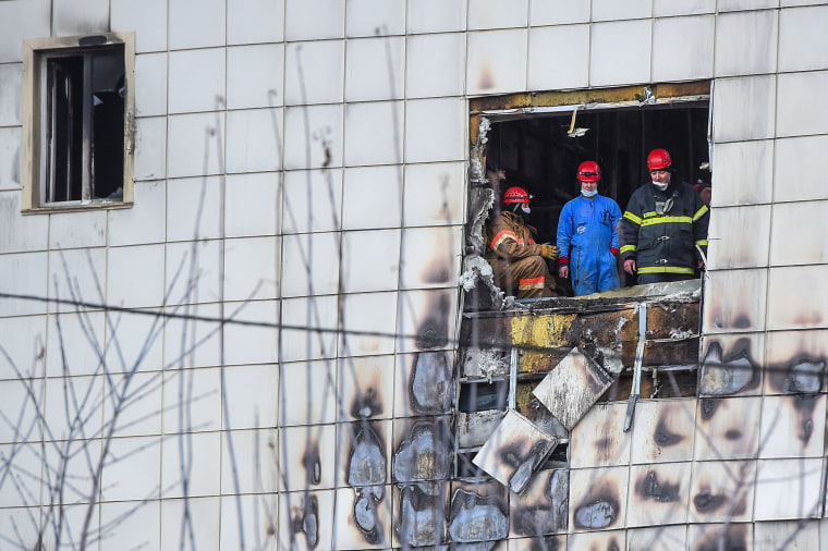 Image: Russia fire