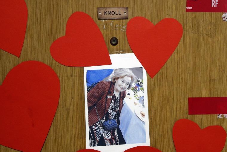 Image: Mireille Knoll's apartment door