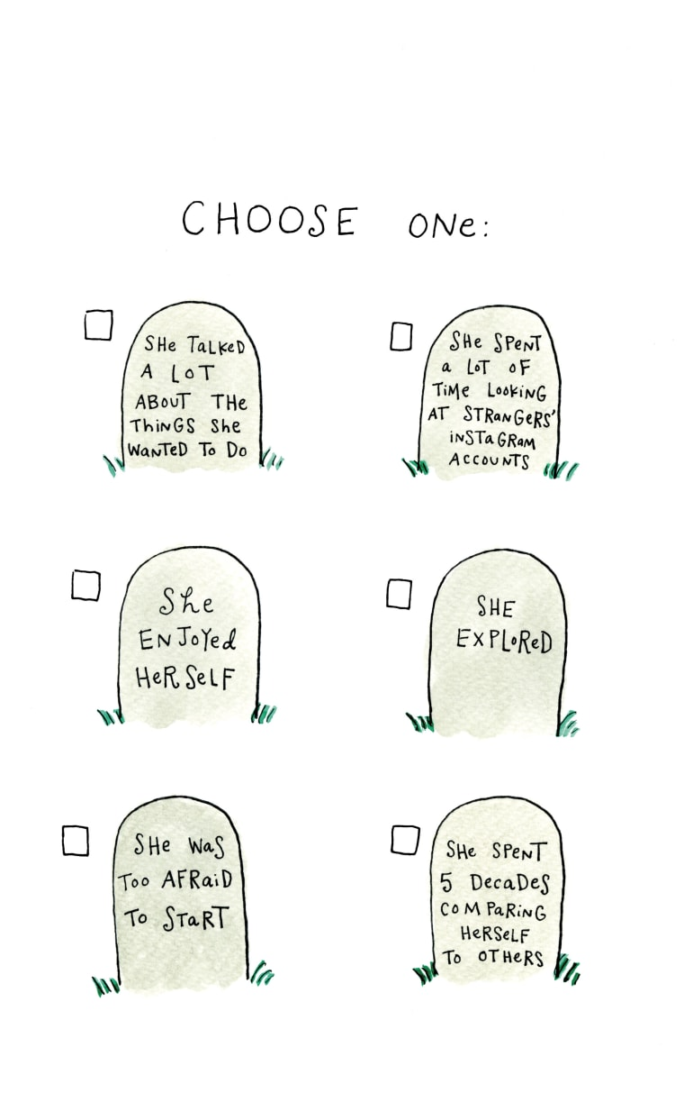 Choose your epitaph