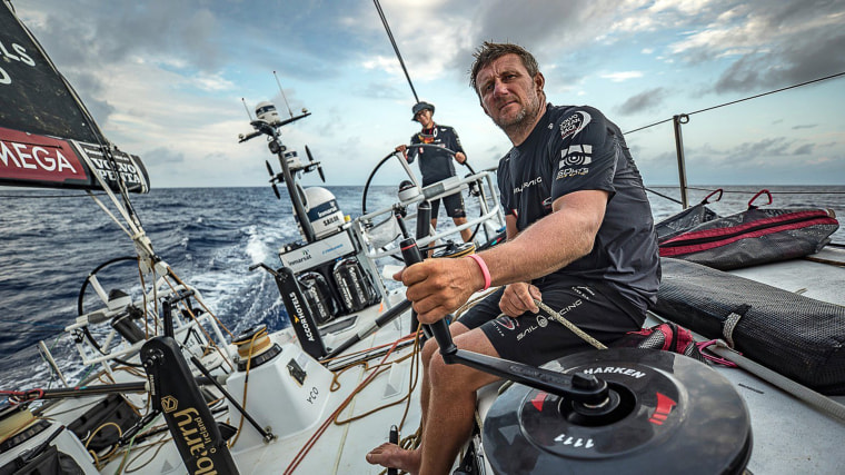 Image: Volvo Ocean Race yachtsman John Fisher missing