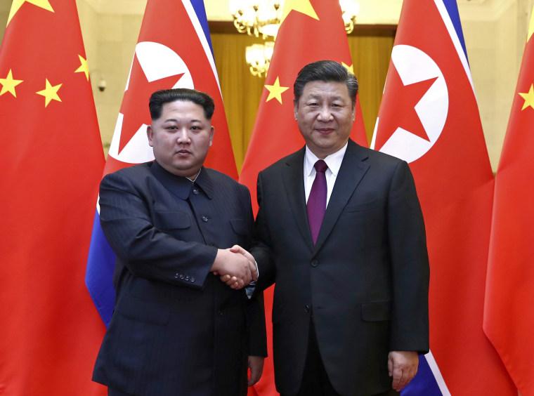 Image: Xi Jingping,Kim Jong Un