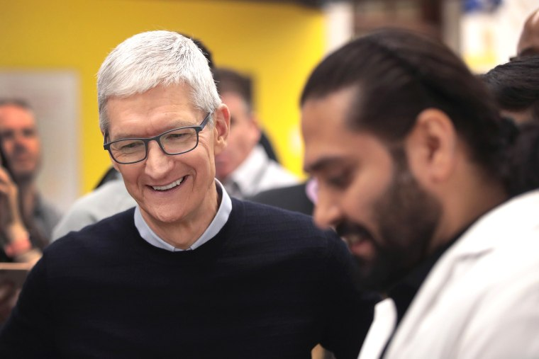 Image: Apple Hosts Education Event At Chicago High School