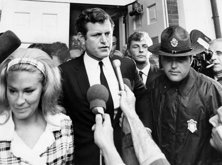 Image: Sen. Ted Kennedy Chappaquiddick Incident