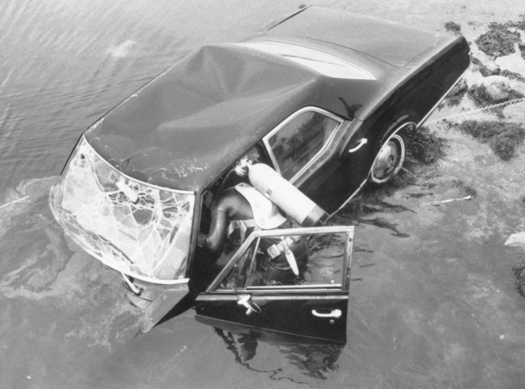 Image: Sen. Ted Kennedy Chappaquiddick Incident