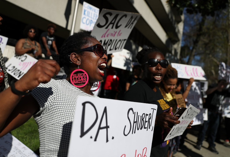 Image: Mourners Attend Wake For Police Shooting Victim Stephon Clark In Sacramento