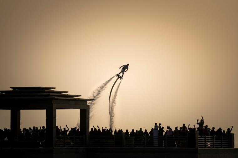 Image: TOPSHOT-SAUDI ARABIA-FISE-BMX