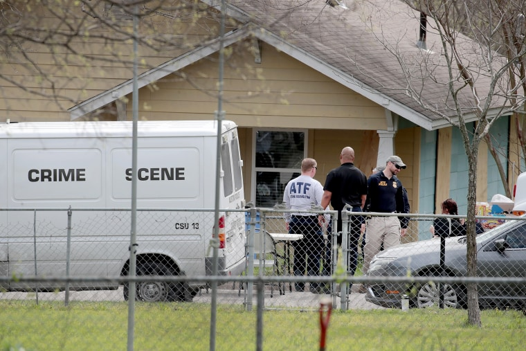 Image: Law Enforcement Officials Continue Investigation Into Austin Bomber