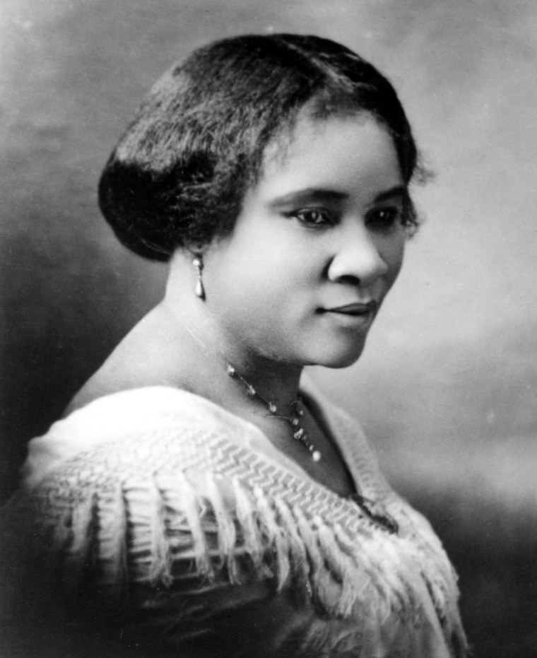 Image: Madam C.J. Walker Portrait