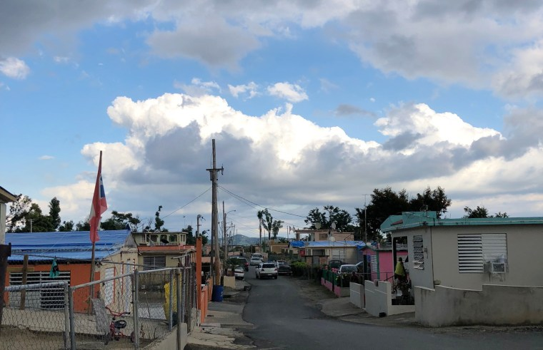 Image: Outside the capital city, several mountain communities like Yabucoa, seen here, are still desperate for power, supplies and attention.