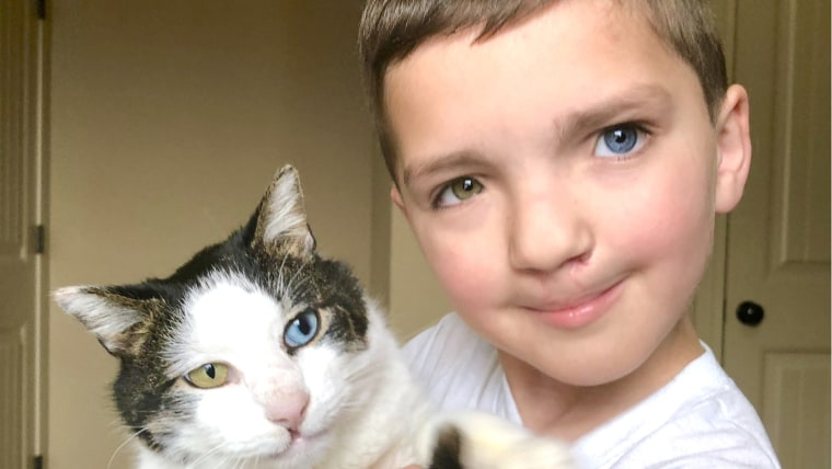 "A cat named Moon helps Madden Humphreys realize being born different is ""magical."""